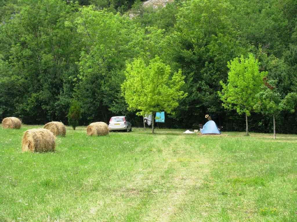 Faire du camping durant la période estivale